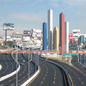 The Satélite Towers, Mexico City, Mexico.