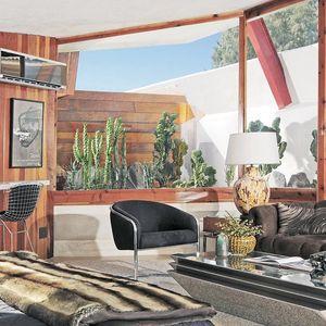 John Lautner building renovation interior