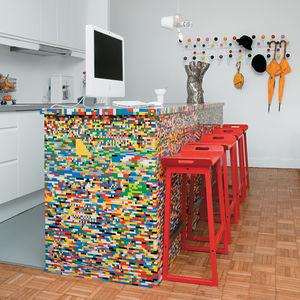 Modern kitchen ideas using legos as the medium