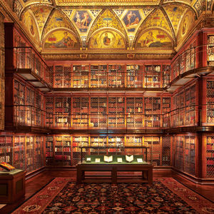 LED lighting technology in the Morgan Library New York