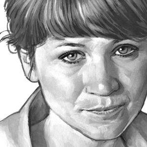 Elisa Strozyk portrait by Bernd Schifferdecker