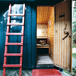 holm residence sauna