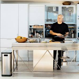 picard residence kitchen portrait
