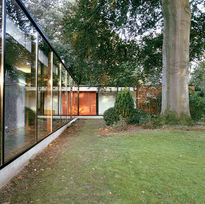 """""""Good architecture is always about the site, never about style,"""" says Dieter Van Everbroeck, who used a 300-year-old beech tree as a starting point for his design."""