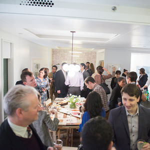 Dwell and DDG Holiday Party event at 345 Meatpacking