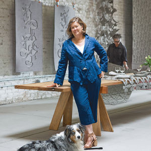 Philanthropist and Workshop Residence founder Ann Hatch
