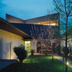 L-shaped courtyard Erich Sattler Winery in Tadten, Austria