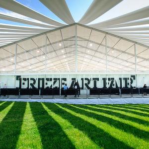 frieze art fair tent