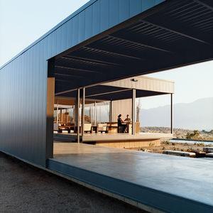 desert house exterior side