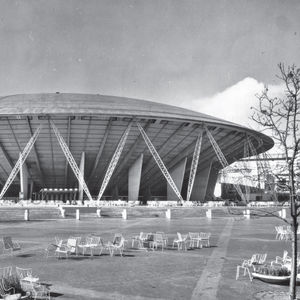 Britain's prefab Dome of Discovery