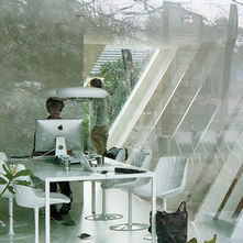 Office extension house belgium