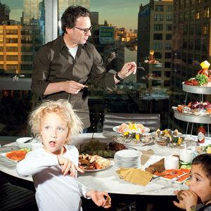 kids, party, apartment