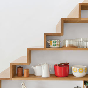 collectors choice staircase shelves