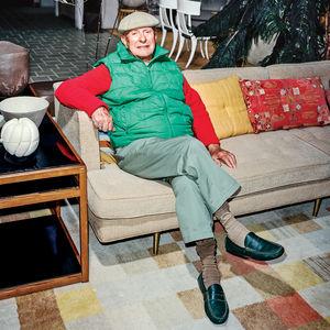 jack lenor larsen portrait