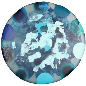 liquid moon top in underwater blues aure