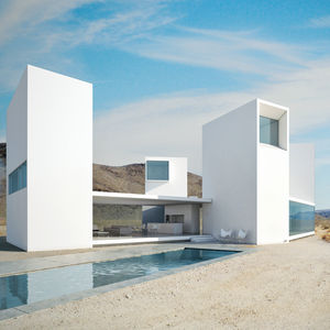 concept privacy four eyes house exterior