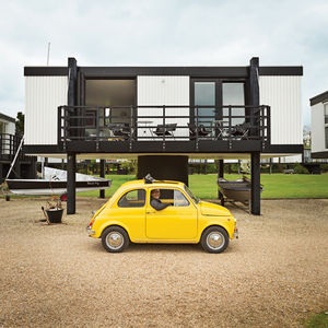 elevated deckhouse england exterior