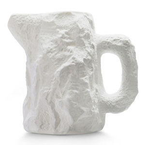 fine bone china gift lab jug minimalist white kitchen barware