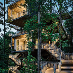 boy scouts sustainable tree house
