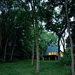 modern, house, midwest, vincennes, indiana, farm, gable