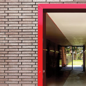 facade focus brick house bva close up