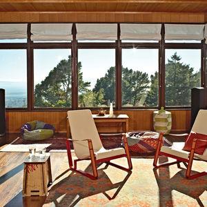 esherick addition living room