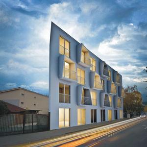 housing project, windows, Slovakia