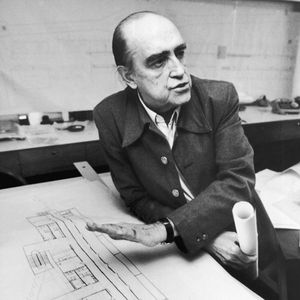 oscar niemeyer portrait