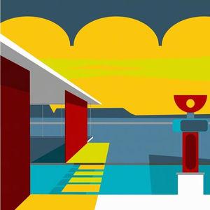 retro supersonic modern artwork by michael murphy
