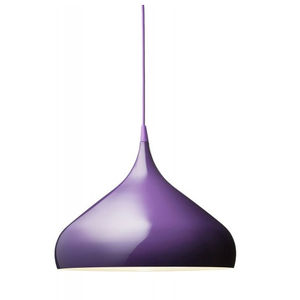 lacquered aluminum and silicone lamp available in many colors