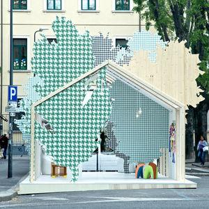 LA x Milano Salone 2014 Exhibition Pavilion