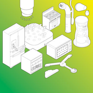 smartest home kitchen modern products illustration