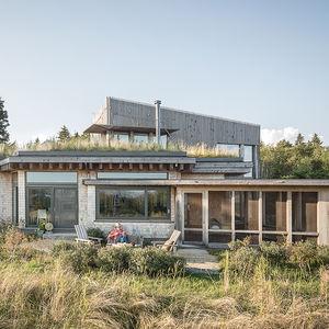 steuben maine green roof