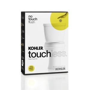 kohler touchless toilet flushkit package