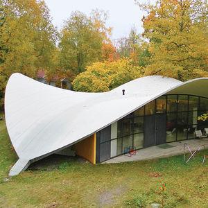 Yrjö Kukkapuro's studio residence exterior.