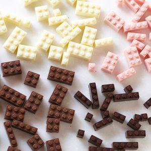 chocolate lego blocks by akihiro mizuuchi 2