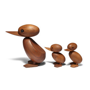 Wooden Danish duck set