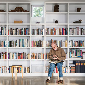 art life library shelves artek stool