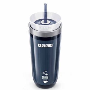 The stainless steel Zoku Iced Coffee Maker.
