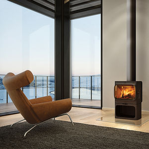 Norwegian wood-burning iron stove designed by Torbjørn Anderssen and Espen Voll.