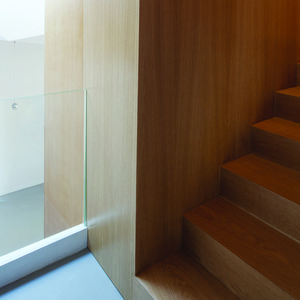 scape rome renovation wood millwork stair