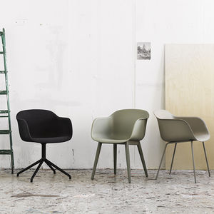 muuto fiber chair remix 183 dusty green grey