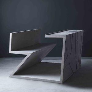 libeskind abramovic concrete desk seat