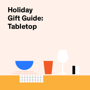 Holiday Gift Guide with tabletop products for the entertainer
