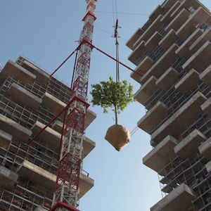 vertical forest construction milan 0