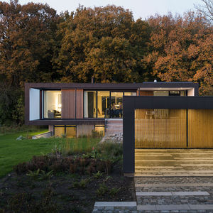 cf moller vacation house denmark facade