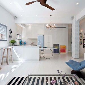tel aviv living room blue chair