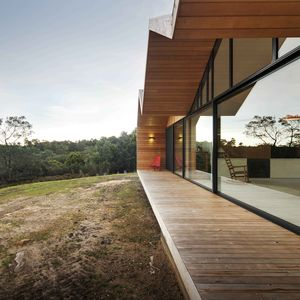 Side View of the Lookout House in Tasmania