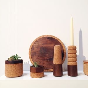 melanie abrante cork and wood vessels