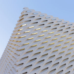 broad museum downtown los angeles exterior